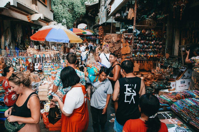 Ubud, Indonésia - Ubud Art Market
