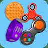 Fidget Toys Pop It Anti stress and Calming Games Apk icon