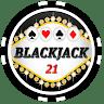 Black Jack 21 game apk icon