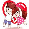 Love Couple Stickers - WAStickerApps app apk icon