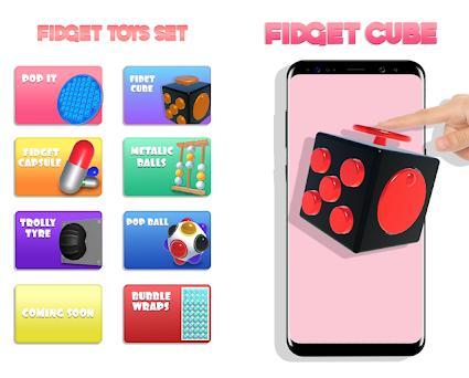 Sensory Fidget Toys Game! Antistress & Antianxiety Capturas de pantalla