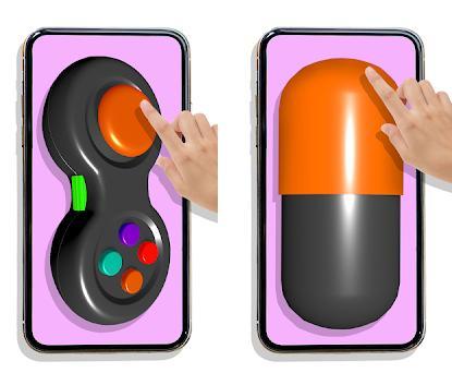 Fidget Toys Pop It Anti stress and Calming Games Capturas de pantalla