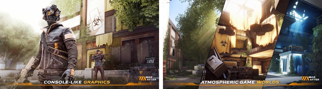 War After: Shooter Capturas de pantalla