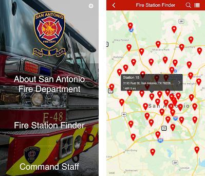 San Antonio Fire Department Capturas de pantalla