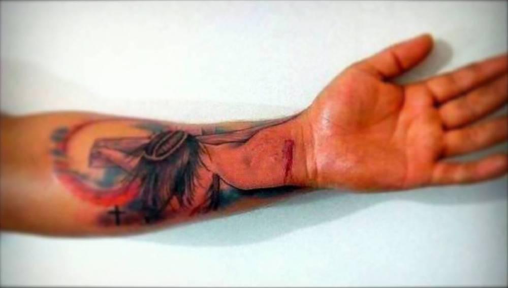 Tatuajes De Jesus En El Antebrazo Tatuajes