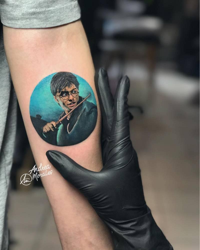 Microrealismo De Harry Potter En 7 Centímetros De 3h Y