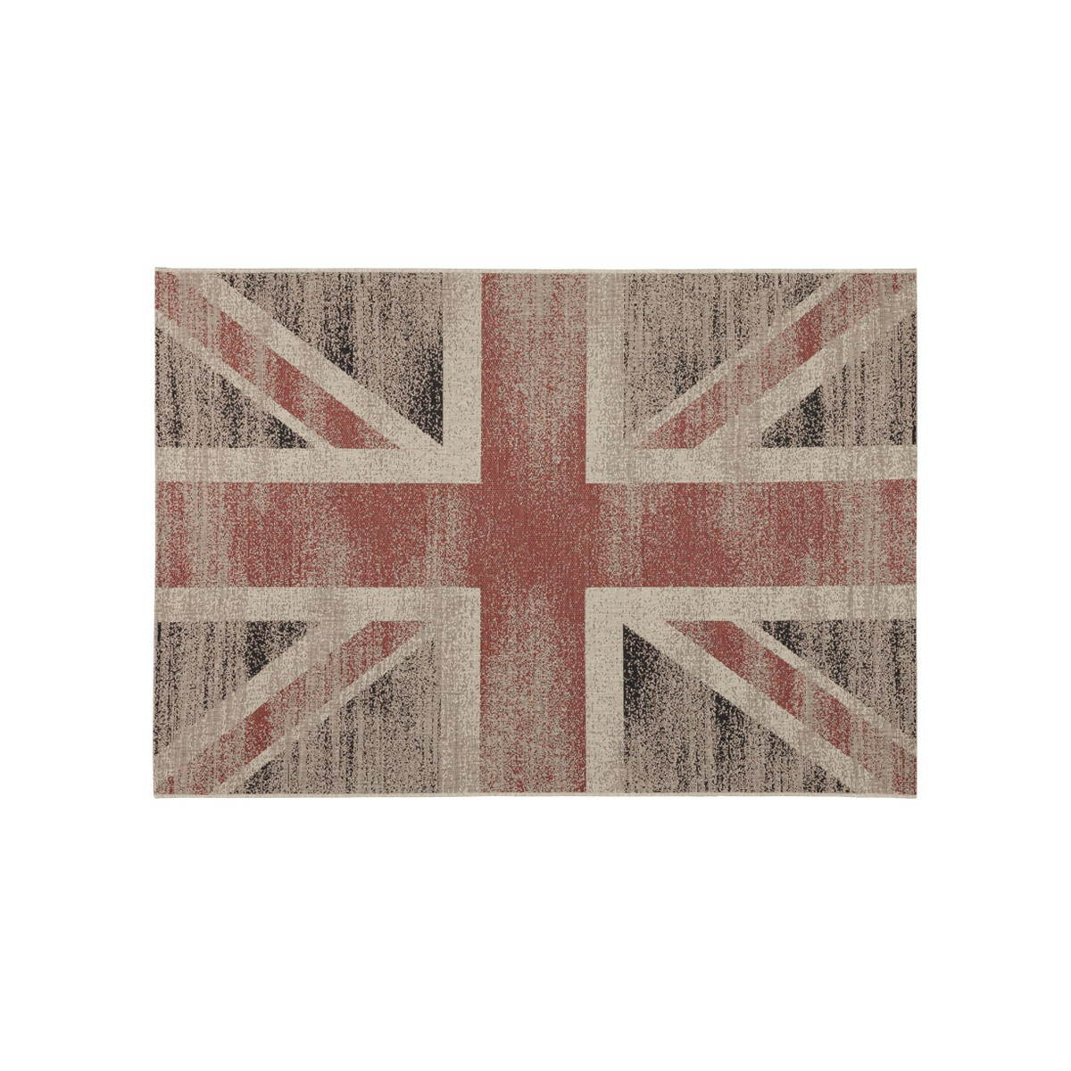 tapis contemporain et design drapeau uk