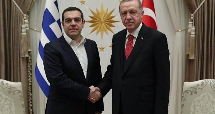 Recep Tayyip Erdoğan - Aleksis Çipras