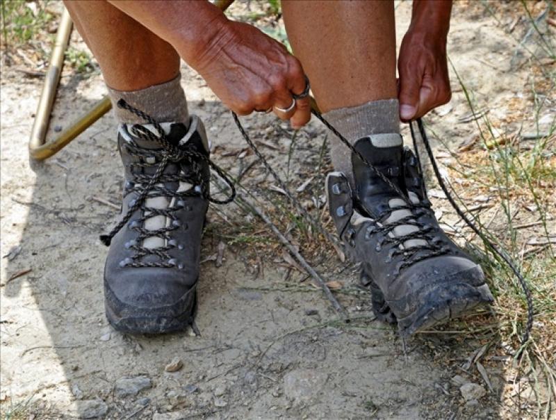 【戶外百科】鞋帶的綁法 - 健行筆記