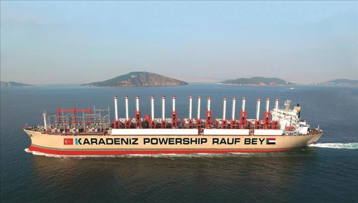 Turkish floating plant starts power supply to Sudan