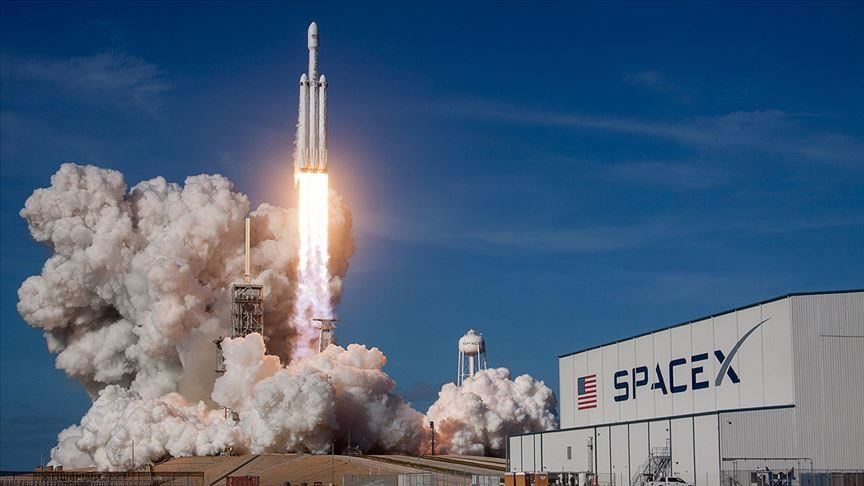 SpaceX rocket successfully takes off on historic flight