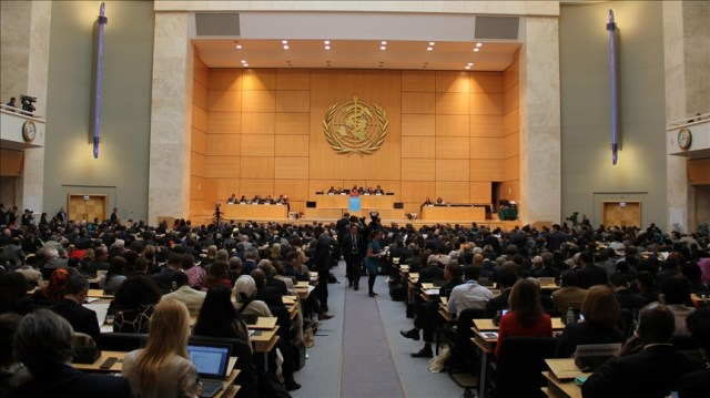 World Health Assembly passes Turkey-backed resolution on Palestine