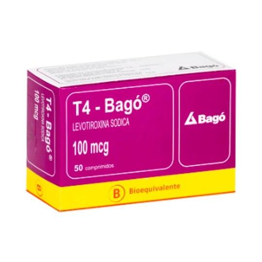 T4 100 mcg 50 comprimidos