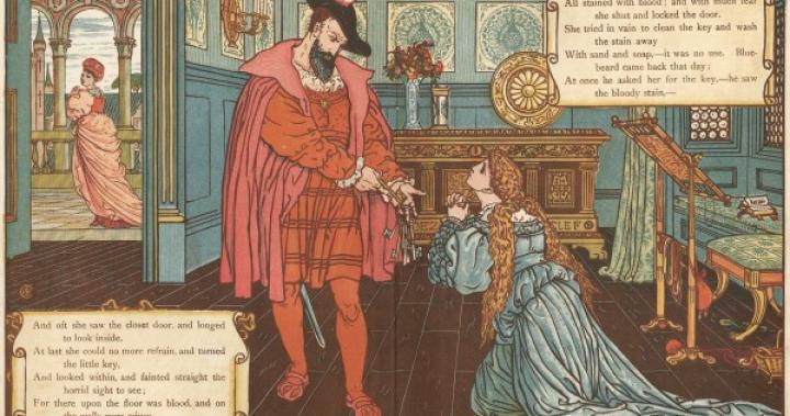 藍鬍子的秘室母題:《童話的魅力》 MPlus