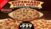 shakey supercard pizza party