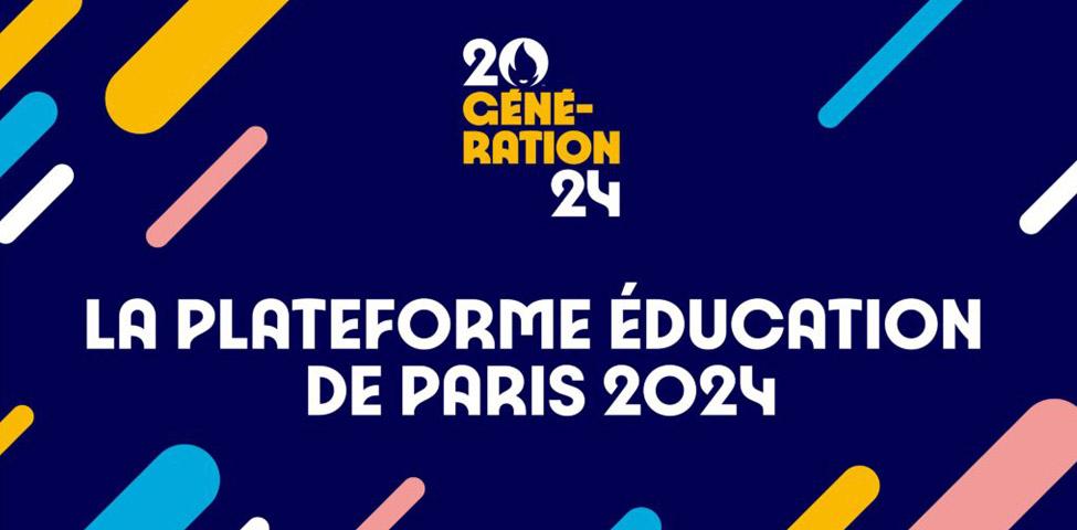 Paris 2024 lance sa plateforme «Génération 2024»