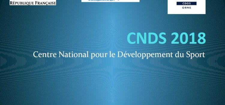 CNDS 2018 – Les orientations