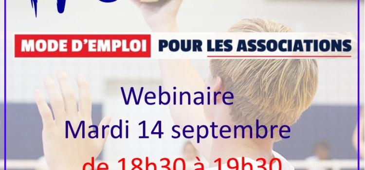 Webinaire Pass Sport pour les clubs de l'Orne – 14 septembre 2021