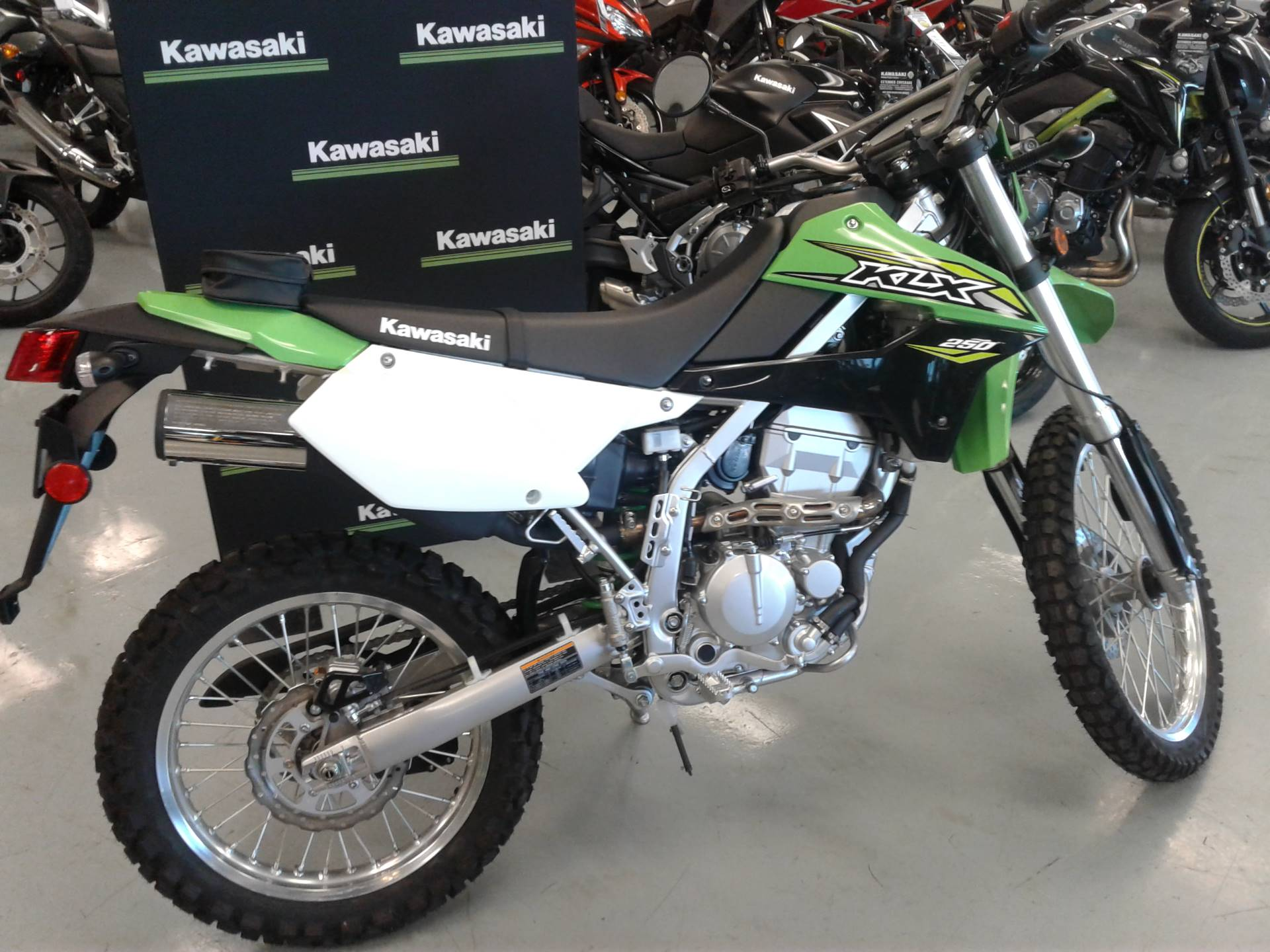 hight resolution of 2018 kawasaki klx 250 in orange california