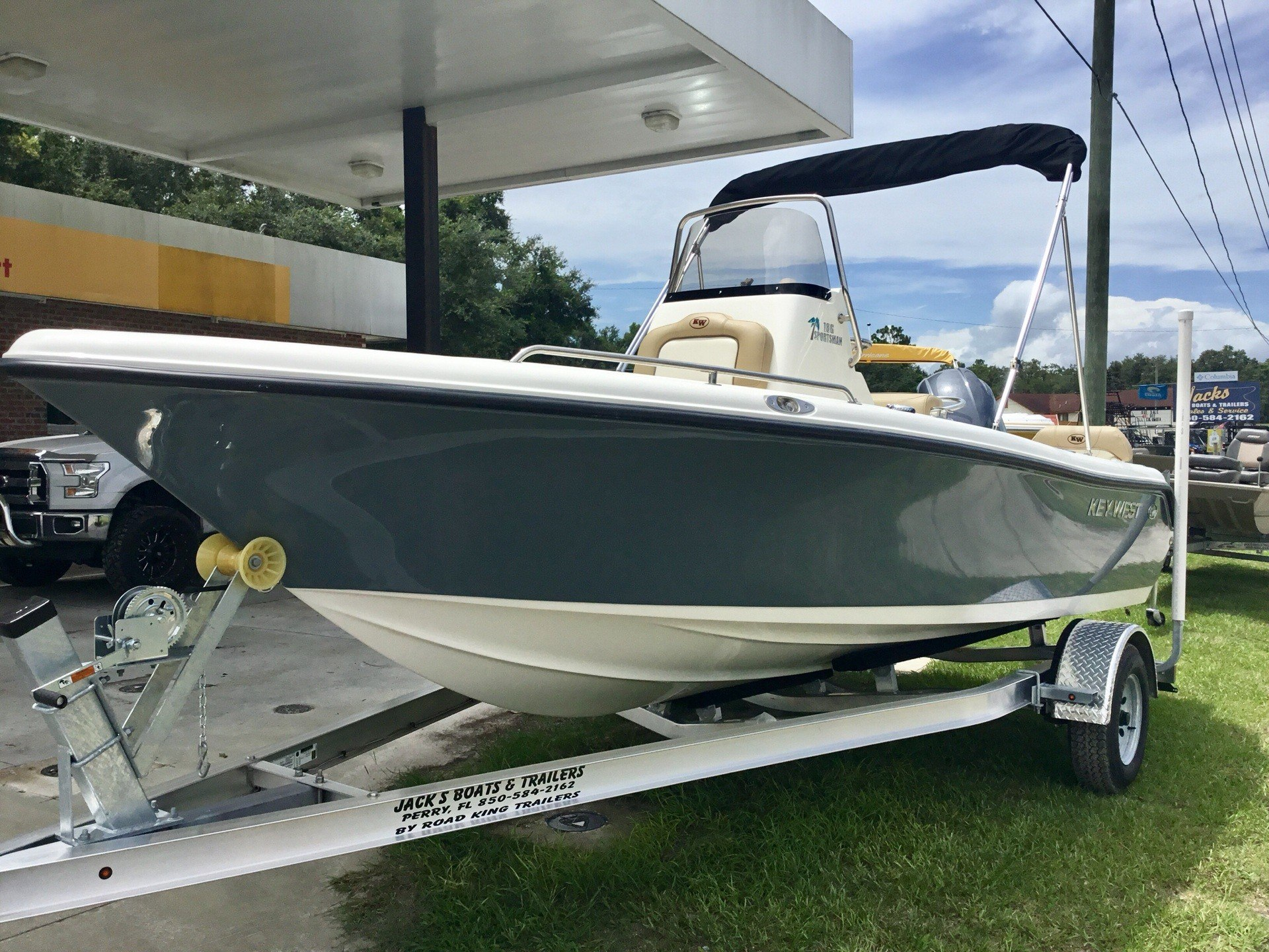 hight resolution of 2018 key west 186 center console in perry florida photo 1