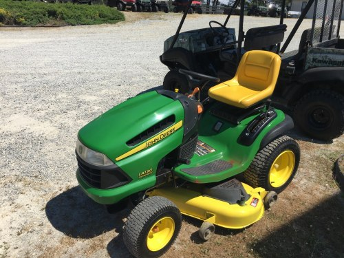 small resolution of 2007 john deere la130 lawn tractor in aulander north carolina photo 2