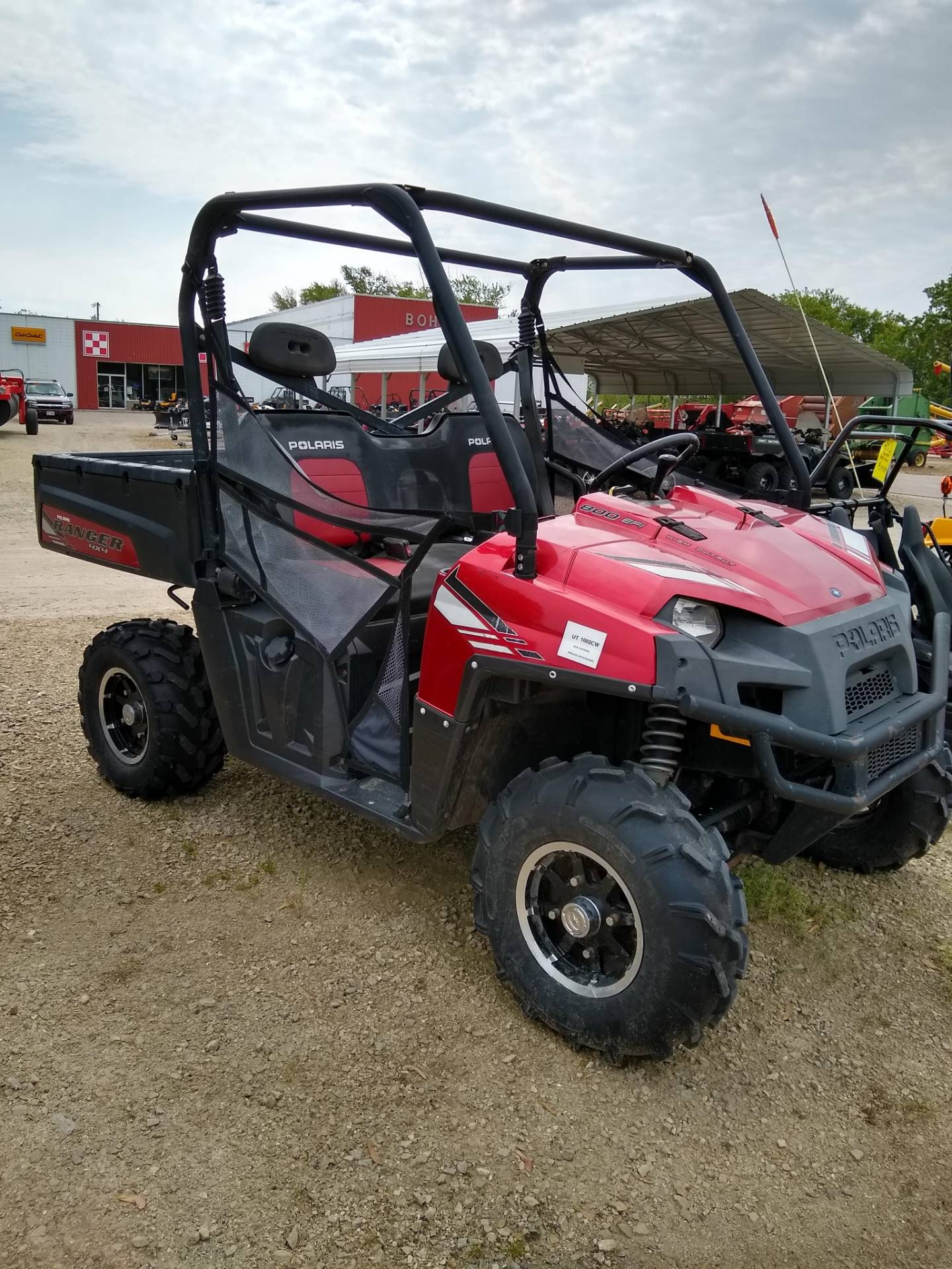 hight resolution of 2013 polaris ranger 800 eps sunset red le in berlin wisconsin photo 1