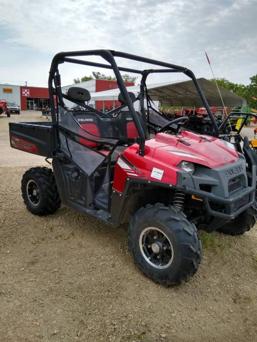 small resolution of 2013 polaris ranger 800 eps sunset red le in berlin wisconsin photo 1