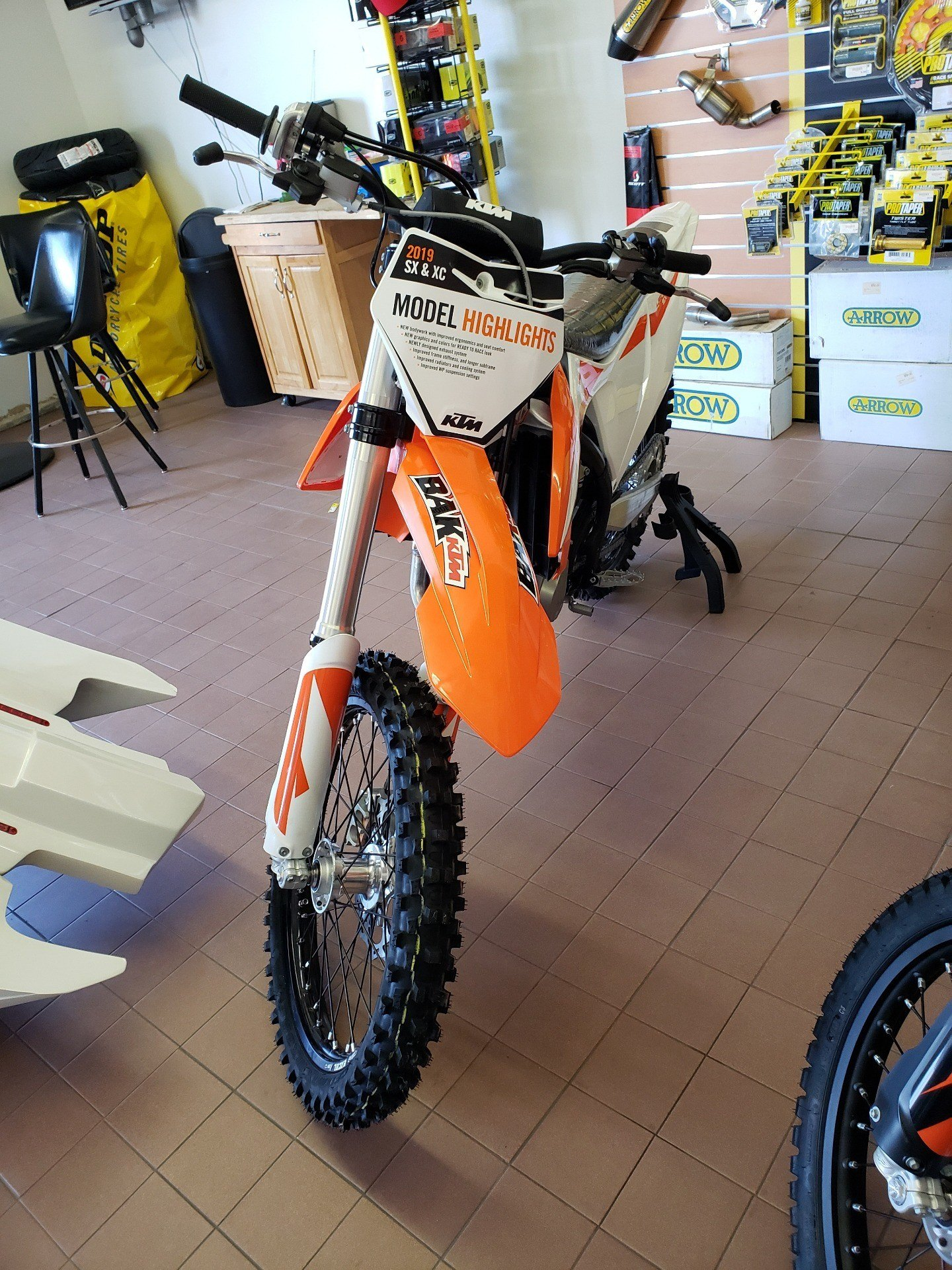 hight resolution of 2019 ktm 450 sx f in sioux city iowa photo 1