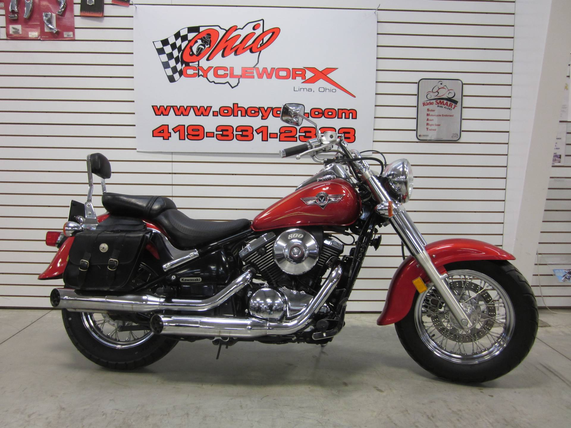 hight resolution of 2005 kawasaki vulcan 800 classic in lima ohio photo 2