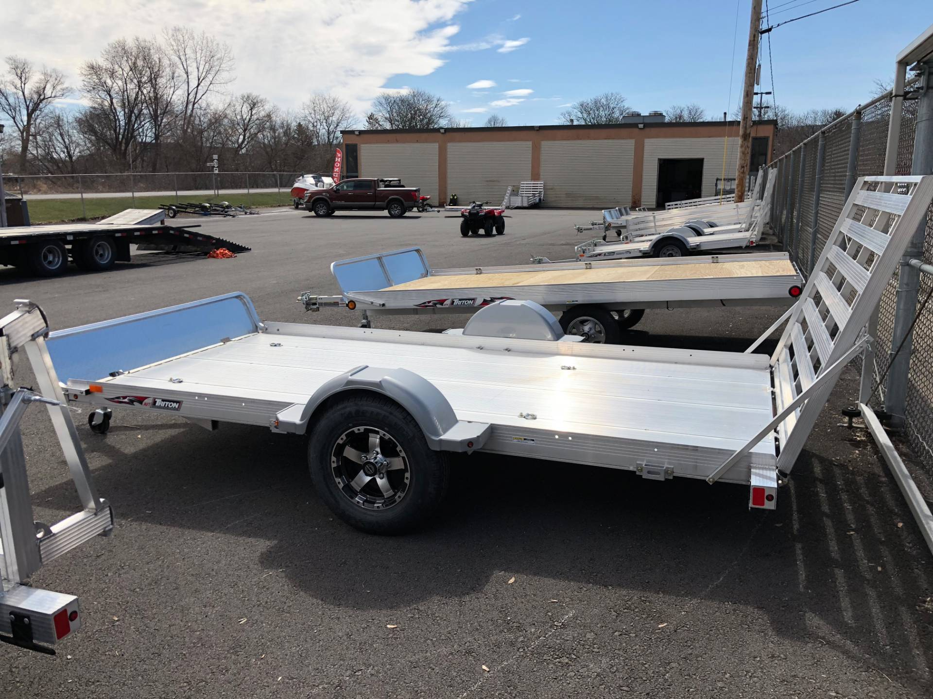 hight resolution of 2018 triton trailers aut1272 in herkimer new york photo 1