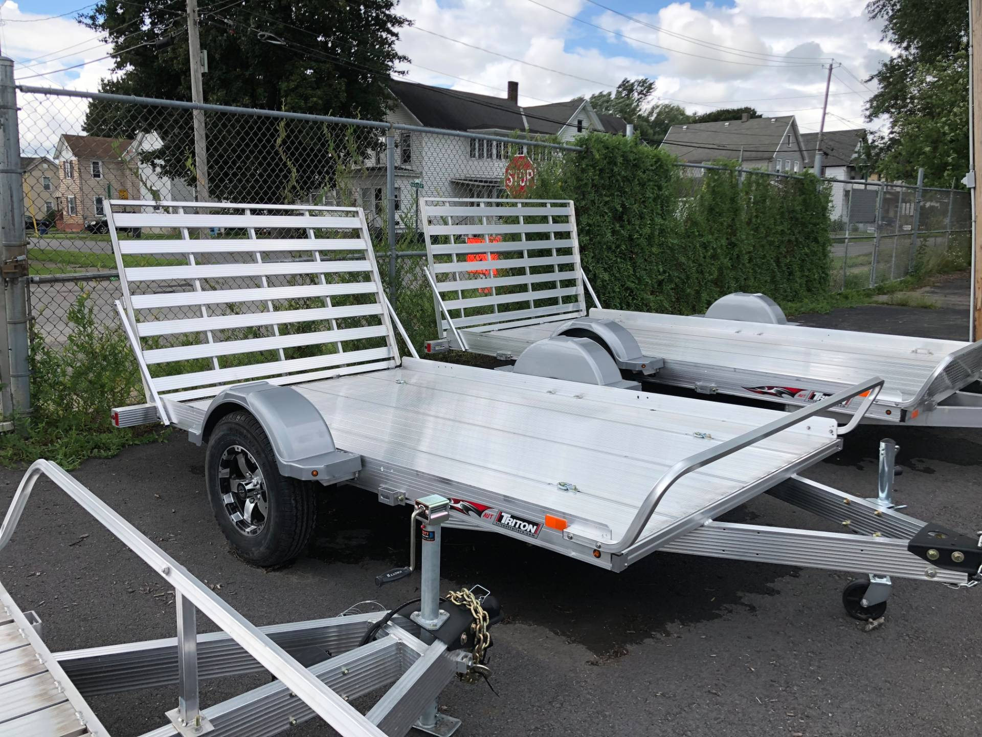 hight resolution of 2018 triton trailers aut1072 in herkimer new york photo 1