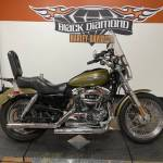 Used 2007 Harley Davidson Sportster 1200 Low Two Tone White Gold Pearl Vivid Black Motorcycles In Marion Il U403225