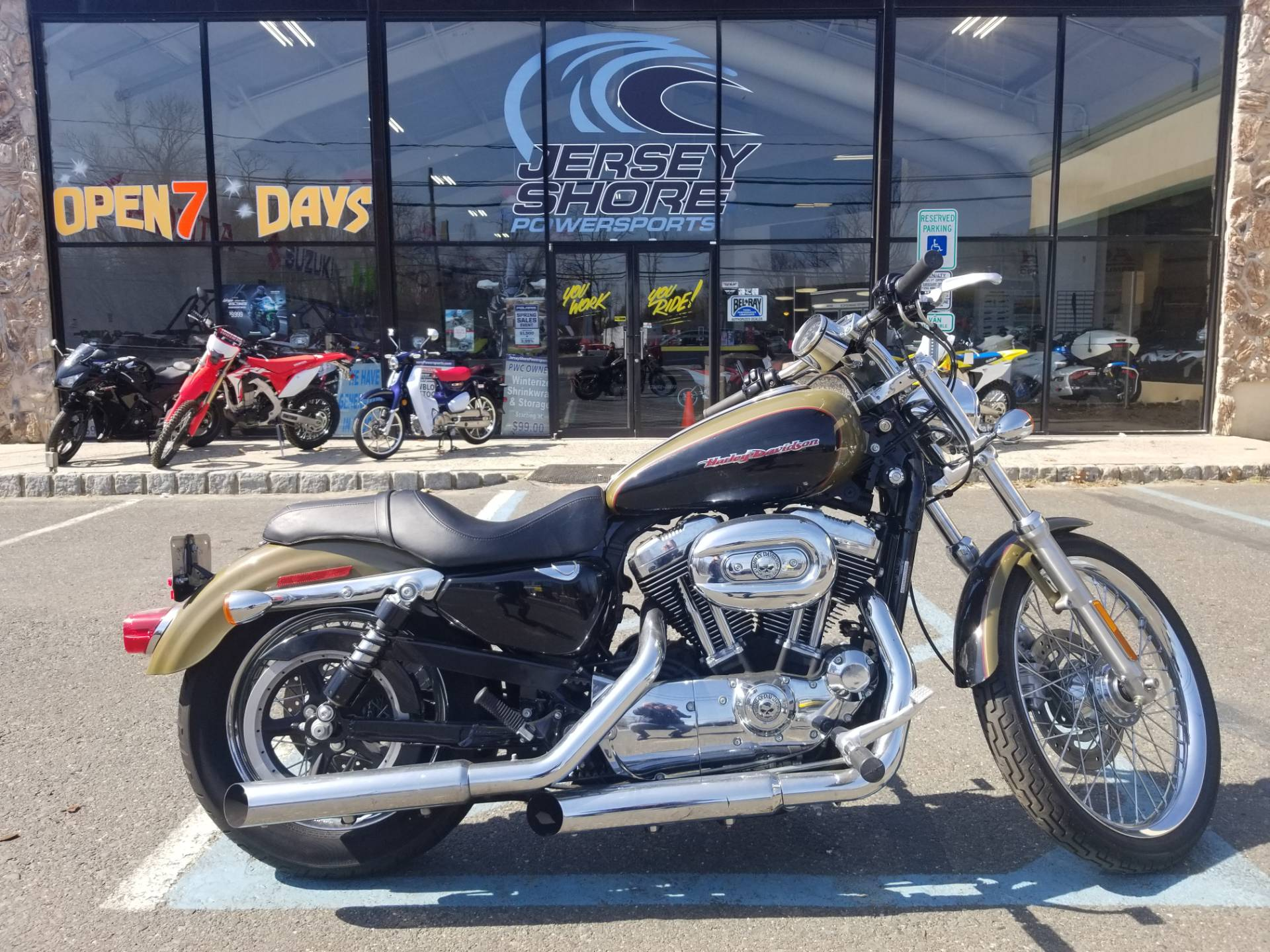 hight resolution of 2007 harley davidson sportster 1200 nightster in middletown new jersey photo