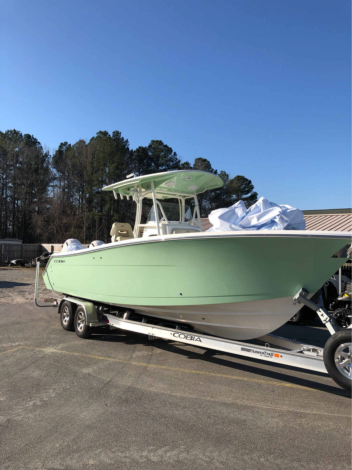 hight resolution of 2019 cobia 277 center console in chesapeake virginia photo 1