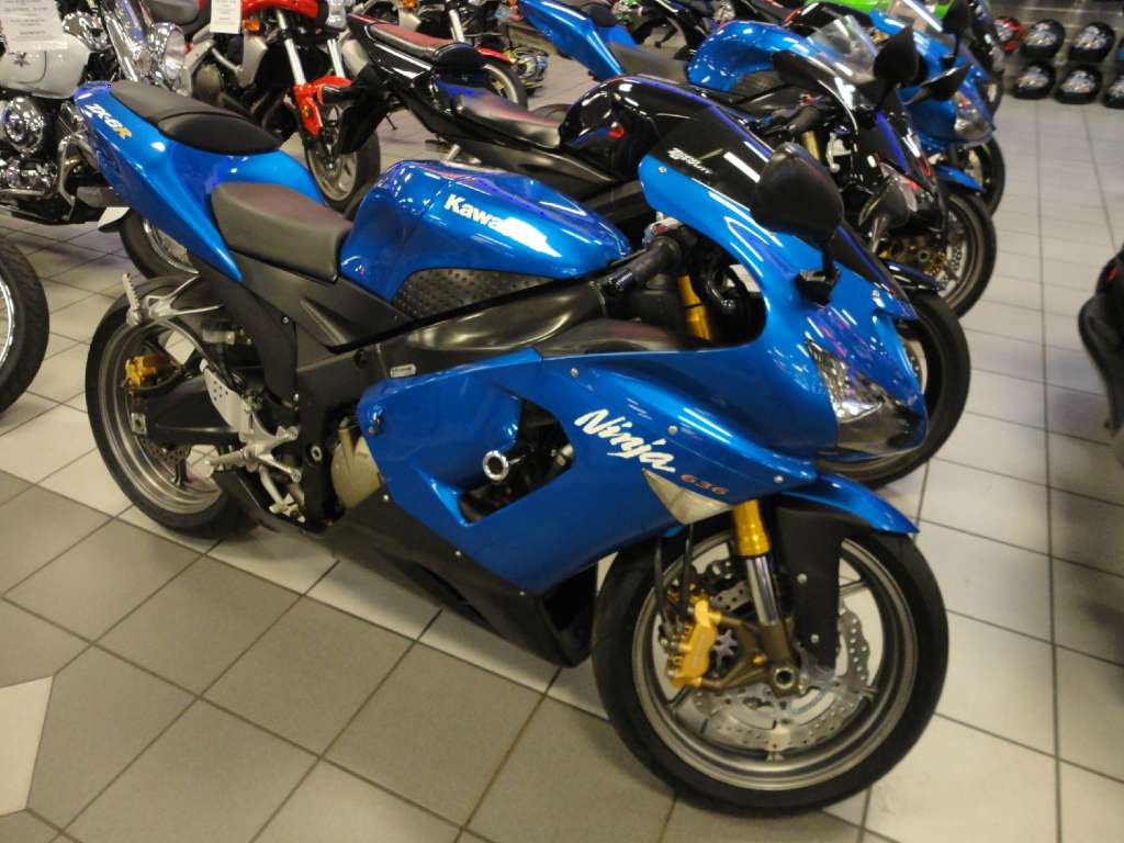 hight resolution of 2005 kawasaki ninja zx 6r in kaukauna wisconsin photo 1