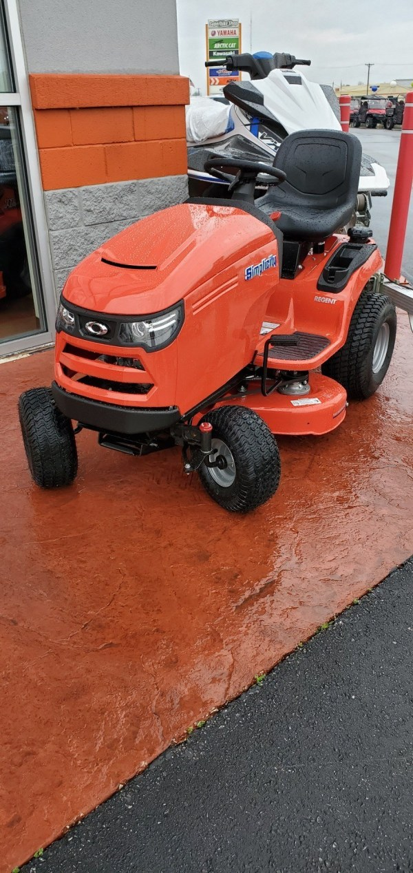 Simplicity Regent 38 Lawn Tractor - Year of Clean Water