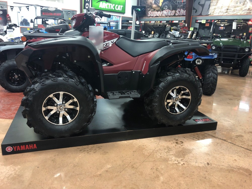 medium resolution of 2019 yamaha grizzly eps in evansville indiana photo 1