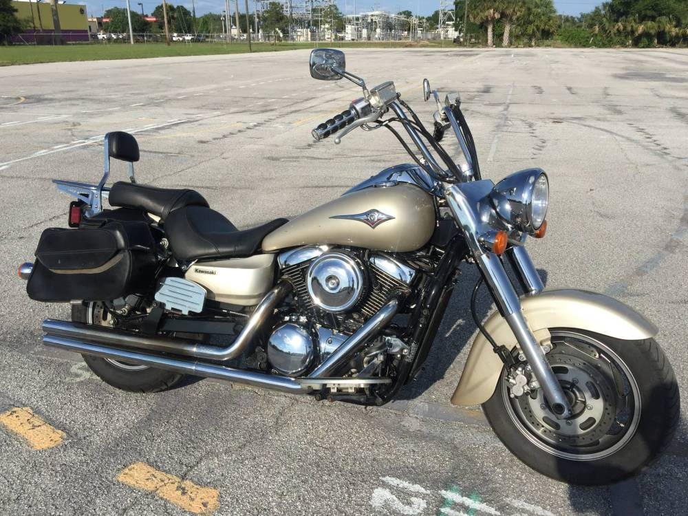 medium resolution of 2005 kawasaki vulcan 1600 classic in eustis florida photo 1