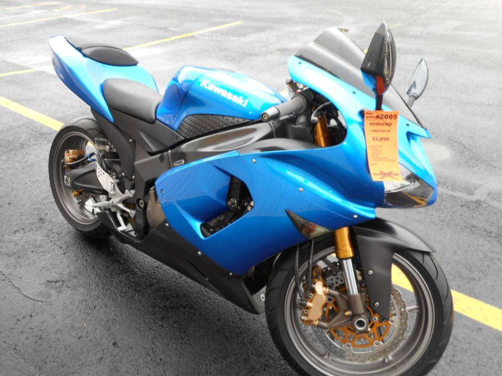 medium resolution of 2005 kawasaki ninja zx 6r in belvidere illinois