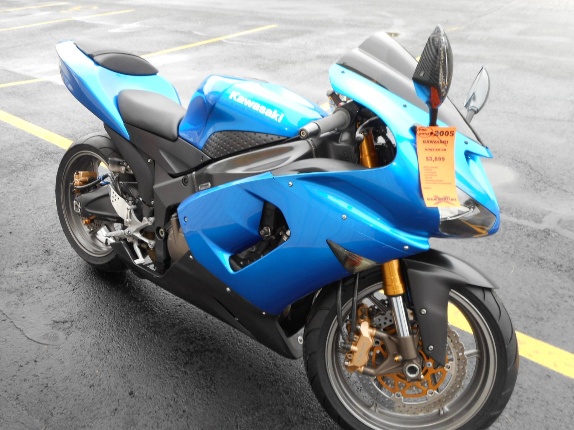 hight resolution of 2005 kawasaki ninja zx 6r in belvidere illinois