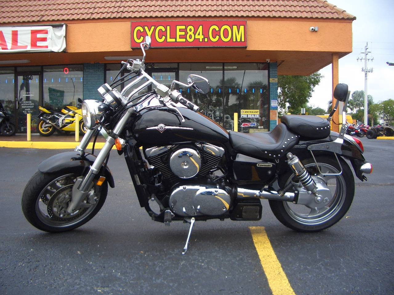 hight resolution of 2005 kawasaki vulcan 1600 mean streak in fort lauderdale florida photo 1