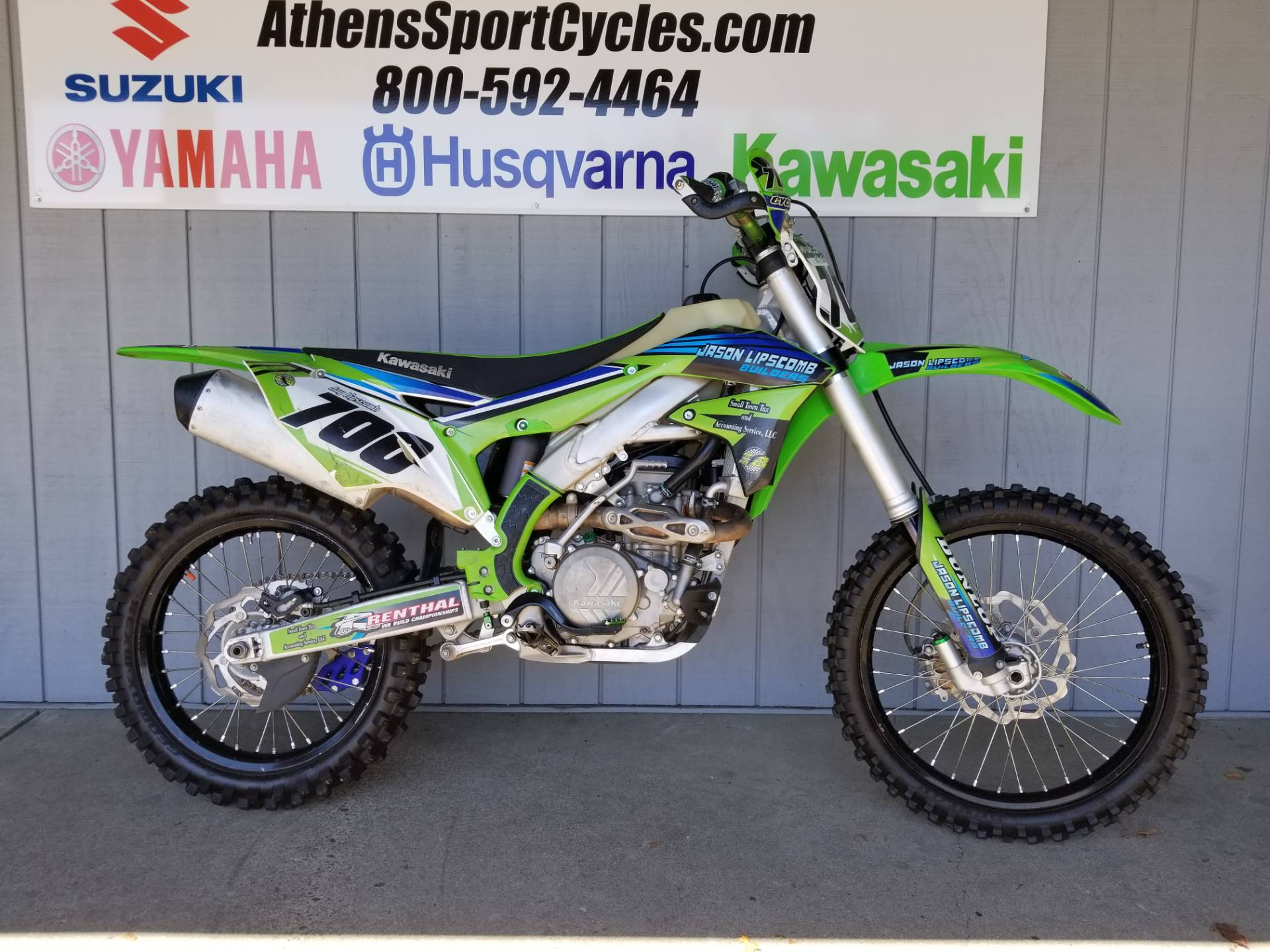 Kx 450f New 2017 Kawasaki Kx450f Motorcycles In Rochester Mn Stock