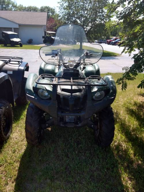 small resolution of 2012 yamaha grizzly 550 fi auto 4x4 in escanaba michigan photo 1