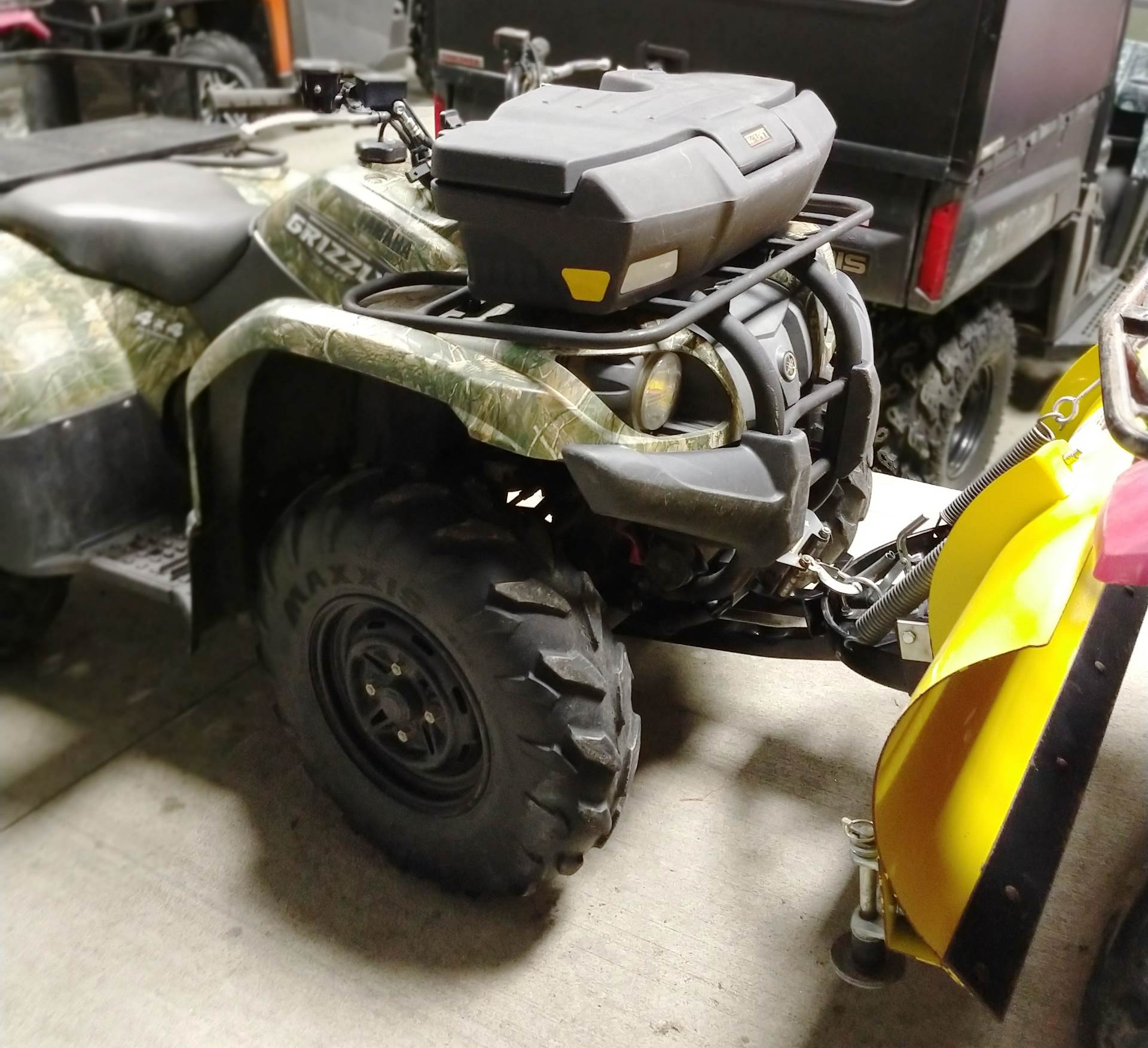 hight resolution of used 2008 yamaha grizzly 450 auto 4x4 atvs in ottumwa ia stock yamaha grizzly 700
