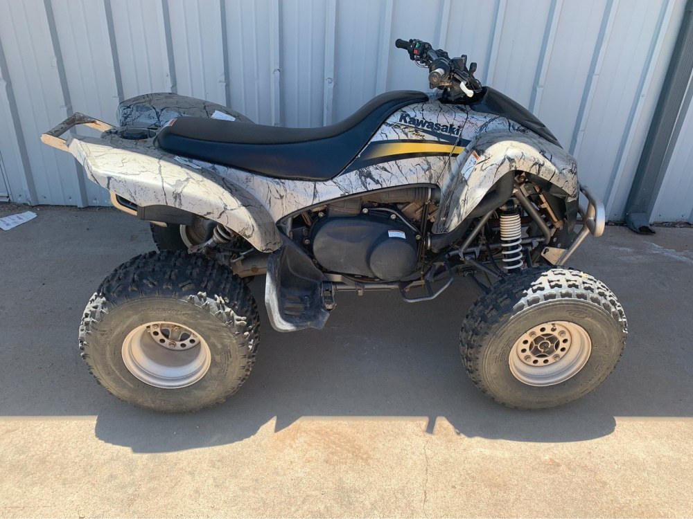 medium resolution of 2005 kawasaki kfx 700 ig in amarillo texas photo 1