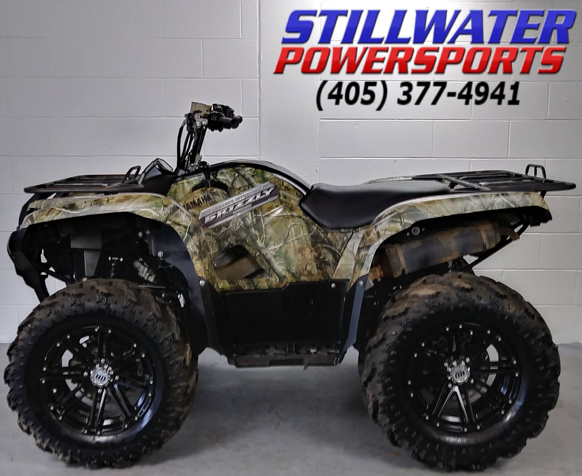 hight resolution of 2013 yamaha grizzly 700 fi auto 4x4 eps in stillwater oklahoma photo 6