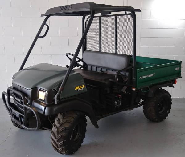 Used 2007 Kawasaki Mule 3010 4x4 Utility Vehicles In Stillwater Stock Number 547318