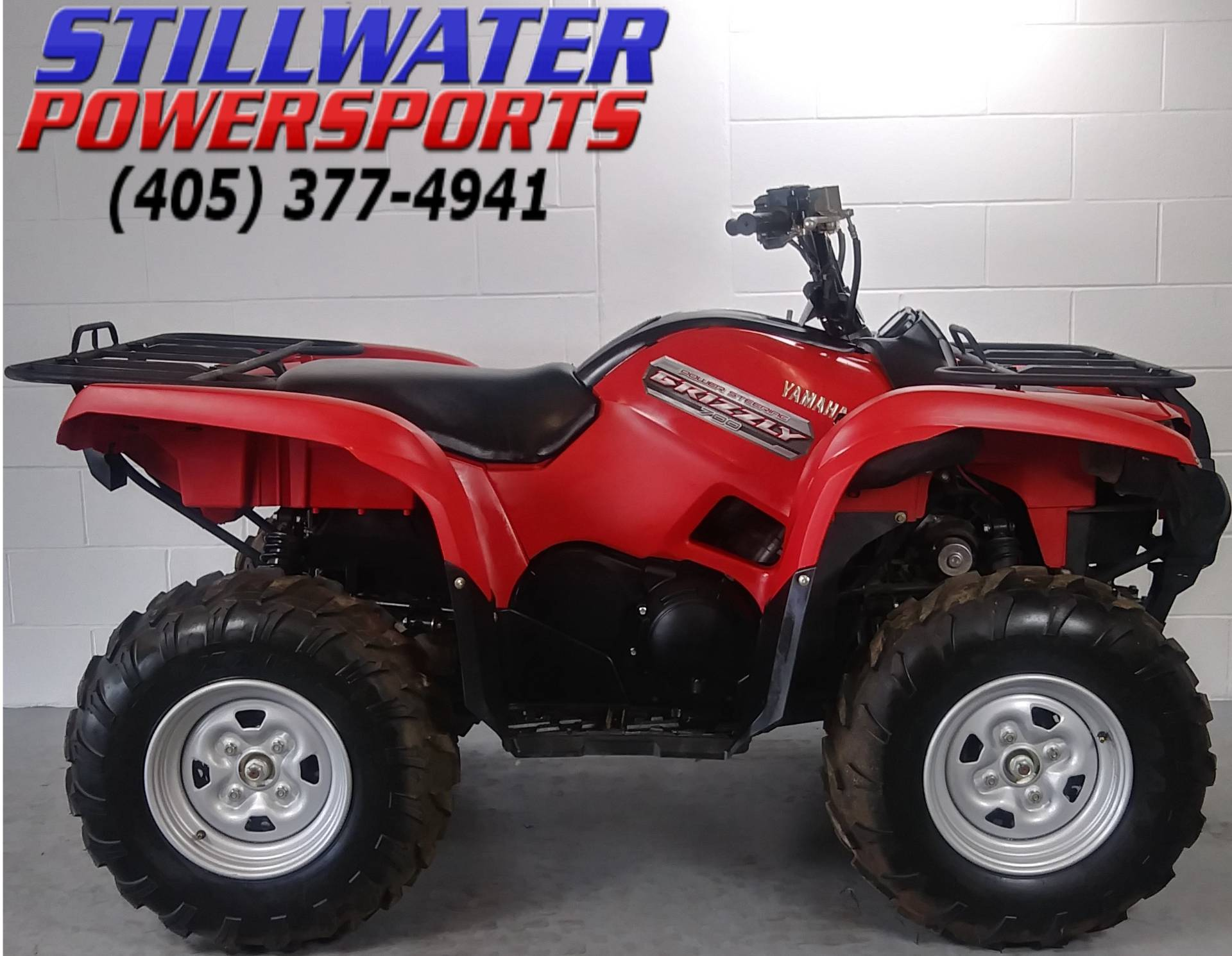 hight resolution of 2013 yamaha grizzly 700 fi auto 4x4 eps in stillwater oklahoma photo 1