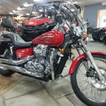 Used 2007 Honda Shadow Spirit 750 Dc Motorcycles In Spring Mills Pa Um1544 Candy Dark Red