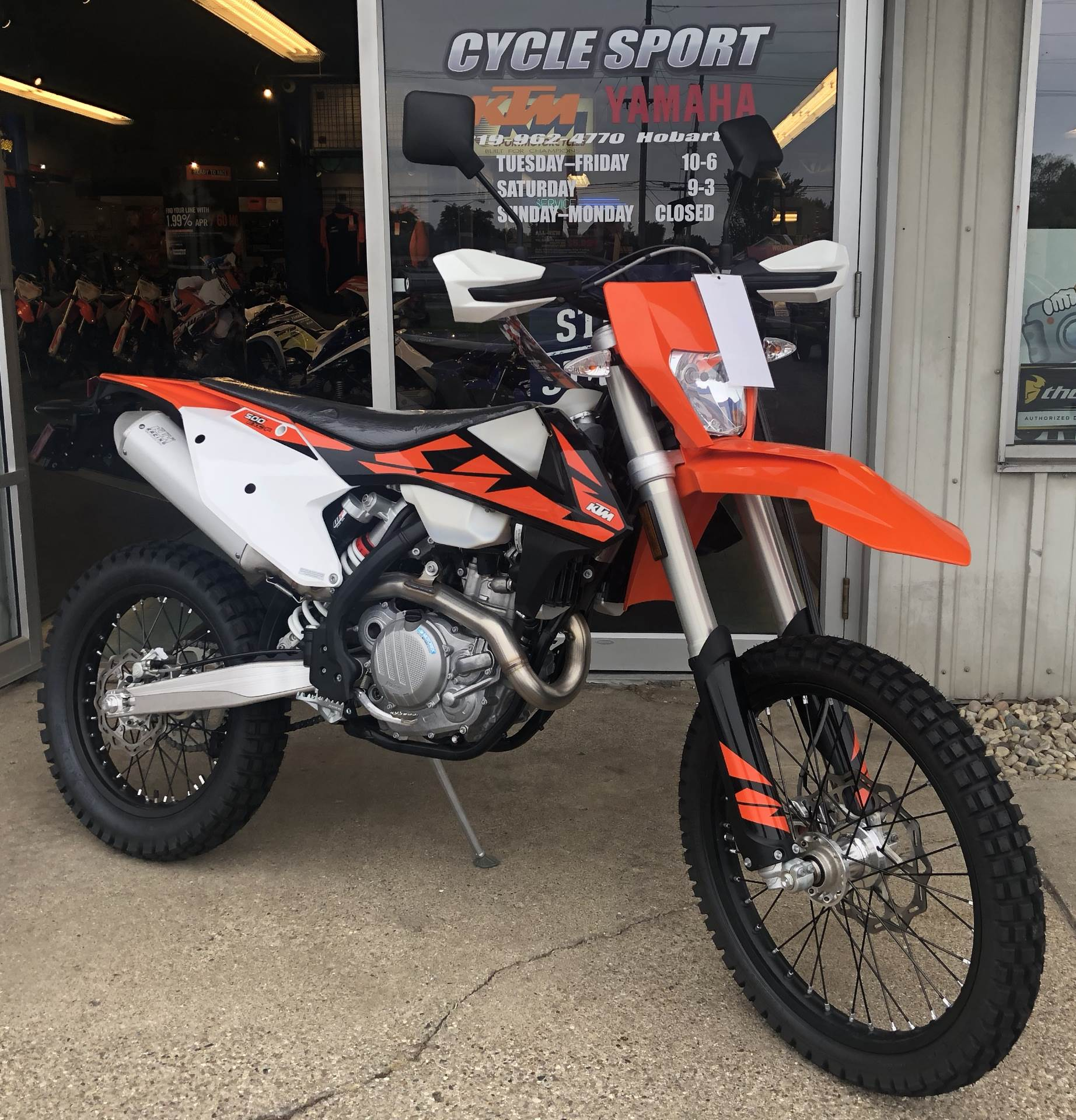 hight resolution of 2018 ktm 500 exc f in hobart indiana photo 1